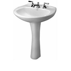 Mansfield Sinks Pedestal : Southern Pipe & Supply